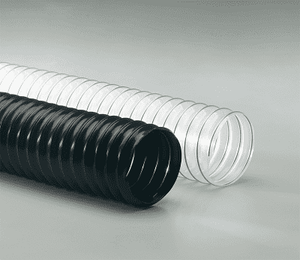 4-Flx-Thane-LD-25 Flexaust Flx-Thane LD 4 inch Air, Fume, and Dust Duct Hose - 25ft