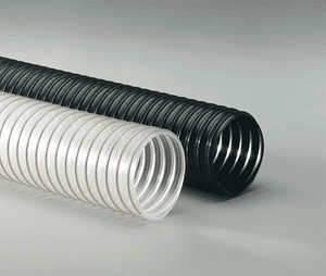 10-Flx-Thane-SD-25 Flexaust Flx-Thane SD 10 inch Air, Dust, and Material Handling Duct Hose - 25ft