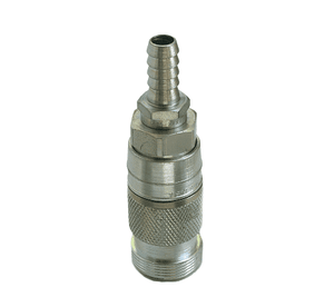23203024 Eaton Full-Bore Series Female Socket - 3/8 Body Size - 1/4 Hose Stem End Connection Pneumatic Quick Disconnect Coupling - Steel