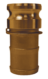 "G200-E-BR Dixon 2"" ASTMC38000 Forged Brass Global Type E Adapter"