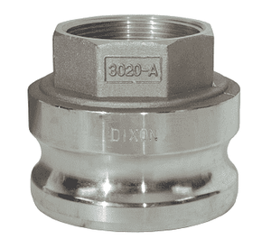 "G3020-A-AL Dixon 3"" x 2"" A380 Permanent Mold Aluminum Global Jump Size Male Adapter x Female NPT"