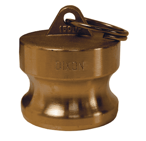 "G125-DP-BR Dixon 1-1/4"" ASTMC38000 Forged Brass Global Type DP Dust Plug"
