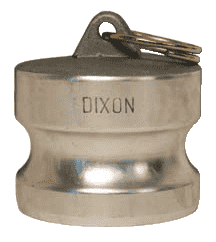 "G100-DP-AL Dixon 1"" A380 Permanent Mold Aluminum Global Type DP Dust Plug"