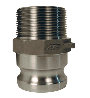 "G100-F-SS Dixon 1"" 316 Investment Cast Stainless Steel Global Type F Adapter"