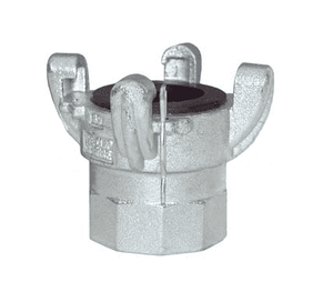 GAM23 Dixon Global Air King 4 Lug Quick-Acting Coupling - Female NPT - Plated Steel - 1-1/2""