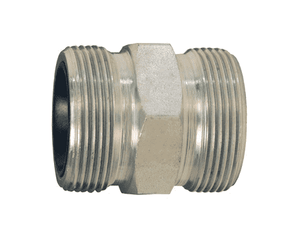 "GDB23 Dixon 1-1/4"" and 1-1/2"" Plated Iron GJ Boss Ground Joint Seal - Double Spud"