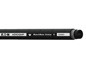 GH663-24 Eaton Aeroquip MATCHMATE Global 1/2 SAE Bend Radius Hydraulic Hose with DURA-TUFF Cover