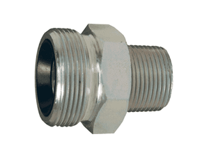 "GM23 Dixon 1-1/2"" Plated Iron GJ Boss Ground Joint Seal - Male Spud"