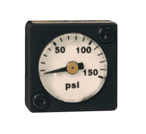GRP-96-719 Dixon Wilkerson Regulator Accessories - 0-160 PSI Replacement Flush Mount Gauge - used on R08