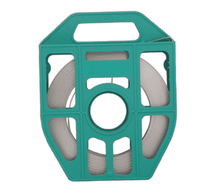 "Band-It C405G9 Band, 316SS, 5/8"" x 0.030"" x 100' Green Tote"