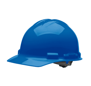 HHB1004 Malta Dynamics Hard Hat - Cap Style - 4 Pt. Ratchet Adjustment - Blue