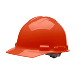 HHO1004 Malta Dynamics Hard Hat - Cap Style - 4 Pt. Ratchet Adjustment - Orange