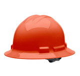 HHO2004 Malta Dynamics Hard Hat - Full Brim Style - 4 Pt. Suspension Ratchet Adjustment - Orange