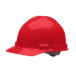 HHR1004 Malta Dynamics Hard Hat - Cap Style - 4 Pt. Ratchet Adjustment - Red