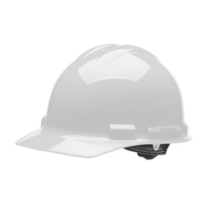 HHW1004 Malta Dynamics Hard Hat - Cap Style - 4 Pt. Ratchet Adjustment - White