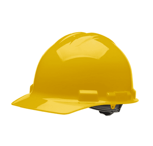 HHY1004 Malta Dynamics Hard Hat - Cap Style - 4 Pt. Ratchet Adjustment - Yellow