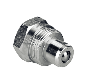 HP3PB37F Eaton HP3 Series Hydraulic Jack/Enerpac Interchange Male Plug 3/8-18 Female NPT Quick Disconnect Coupling - Steel