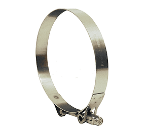 "HSTBC650 Dixon Heavy Duty T-Bolt Clamp - Style HSTBC - 300 Series Stainless Steel - Hose OD Range: 6.250"" to 6.5625"""