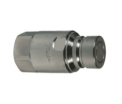 Plug Dixon HT6F6 Steel Hydraulic Quick-Connect Fitting 3//4 Coupling x 3//4-14 NPTF