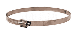 "HTM300 Dixon HTM Hi Torque Clamps - Stainless Steel - 5/8"" Band Width - Hose OD Range: 2-16/64"" to 3-8/64"""