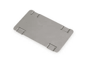 "ID1019 Band-It ID Tag for use with ID Tag Imprinter, 304SS 1.5"" x 2.5"" x 0.015"" Thick - 100 Pieces/Box"