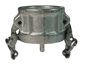 "IH400 Dixon 4"" Plated Iron Boss-Lock Type H Dust Cap"