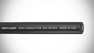"ContiTech Insta-Grip™ 250 Push-On Air / Multipurpose Hose - 0.375"" (3/8"") ID - 250 PSI - Black - 20026012 Goodyear/Continental - 500ft"
