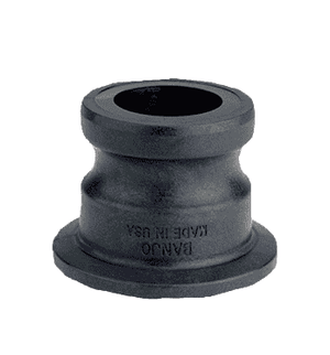 "M100A Banjo 1"" Flange x 1"" Male Quick Disconnect Adapter (Pack of 10)"