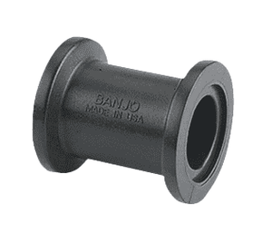 "M100CPG Banjo Straight Flanged Coupling - 1"" x 1"" Flange - 2-1/4"" Long (Pack of 10)"