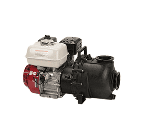 "M220P6PROW Banjo Polypropylene 2"" Manifold Wet Seal Pump w/6.5 HP Briggs & Stratton® Engine Pro Series"