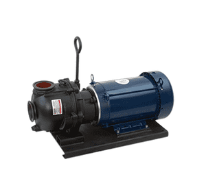 "M222PIE51W Banjo 2"" 222 Series Manifold Cast Iron Wet Seal Pump with 5 HP Single Phase Electric Motor"