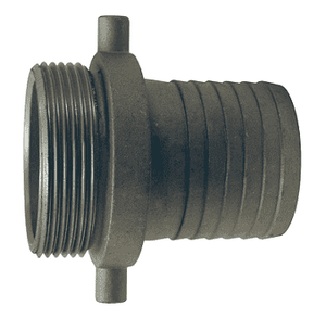 "MA250N Dixon 2-1/2"" King Short Shank Suction Male Coupling with NST (NH) Thread (Aluminum)"