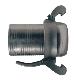 "MC3098ST80 Dixon 8"" Type B (Bauer Style) Heavy Duty Quick Connect Fitting - Male with Machined Steel Hose Shank"