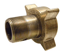 "ME120 Dixon 2-1/4"" Female Acme x 1-1/4"" Male NPT Filler Coupling"