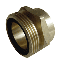 "ME252-16 Dixon Brass 3-1/4"" Male Acme x 2"" Female NPT Adapter"