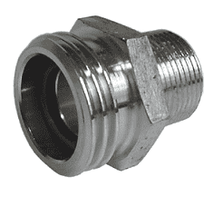 "ME233S Dixon Steel 2-1/4"" Male Acme x 1-1/4"" Male NPT Adapter"