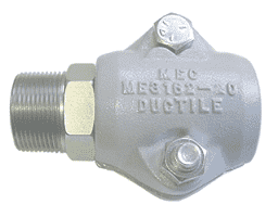"ME3162-24 Dixon Clamp Style Hose Coupling - 1-1/2"" Male NPT"