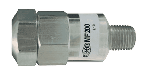 "MF200 Dixon Aluminum Mini In-Line Filter - 1/4"" Female NPT x 1/4"" Male NPT"