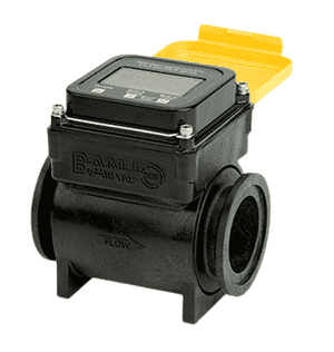 "MFM220 Banjo Polypropylene Flow Meter - Full Port - 2"" Flange End x 2"" Flange End - 150 Max. PSI"