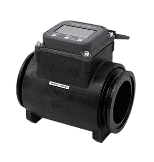 "MFM300 Banjo Polypropylene Flow Meter - Full Port - 3"" Flange End x 3"" Flange End - 150 Max. PSI"