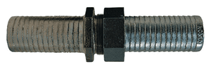 "MLS48 Dixon Long Shank Complete Coupling - 1-1/4"" Hose ID x 1-1/4"" NPSM Thread - Plated Iron"