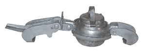 "MP3234 Dixon 4"" Type B (Bauer Style) Quick Connect Fitting - Male Plug - Galvanized Steel"