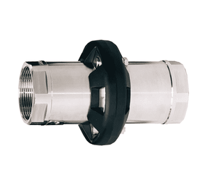 "MSBC200SS Dixon 2"" 316 Stainless Steel Marine Safety Break-Away Coupling - Female NPT x Female NPT - 50 DN"