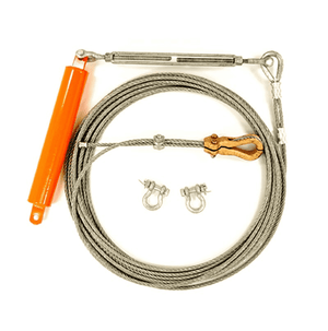 P-00147-60 Malta Dynamics Temporary Horizontal Lifeline Cable Assembly