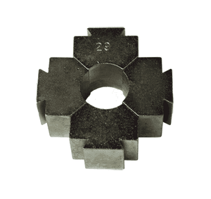 "P37 Dixon Plain Die for use on BFM593, BFL600 (.593"", .600"" ID) Brass Ferrules"
