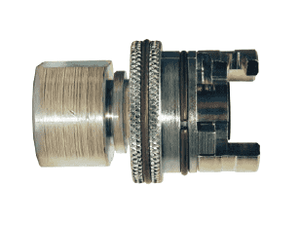 "PFL8FS Dixon Dual Lock Quick-Acting Coupling - Female Pipe Thread with Knurled Flanged Sleeve - 1/2"" Hose ID"