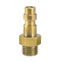 "PJ8-2M ZSi-Foster Quick Disconnect Plug - 1/4"" - Soft Metal (for Plastic and Metal Tubing)"