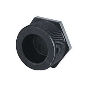 "PLUG050 Banjo Polypropylene Pipe Plug - 1/2"" Male NPT - 150 PSI (Pack of 10)"