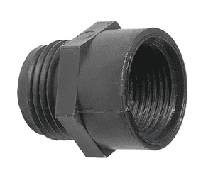"PPA796 Dixon Tuff-Lite Polypropylene Male GHT x 3/4"" Female NPT Adapter (Pack of 25)"