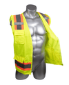 PPE-009 Malta Dynamics High Visibility Yellow Safety Surveyor Vest - XXL